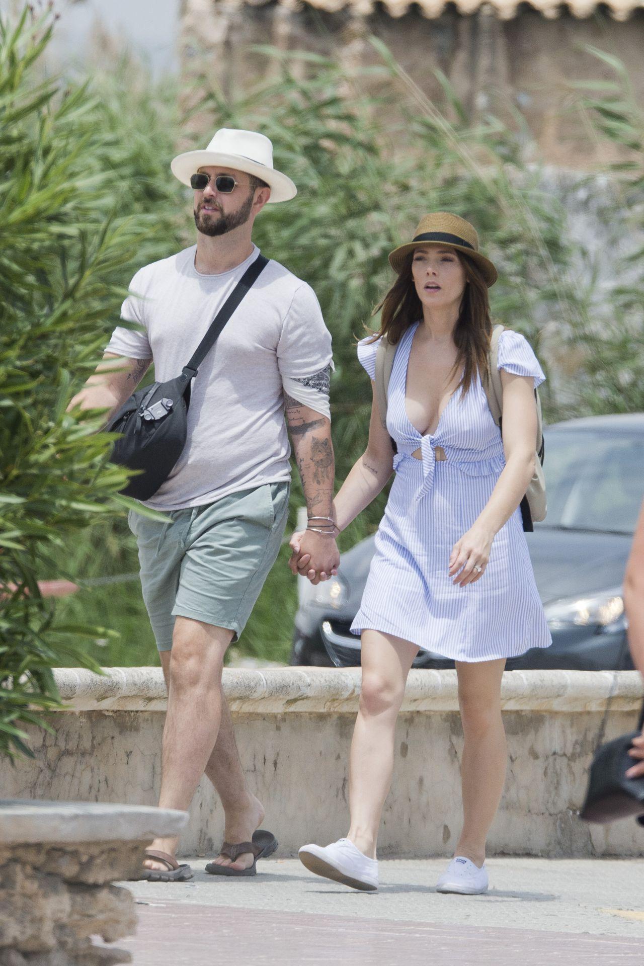 Ashley Greene in Ibiza...