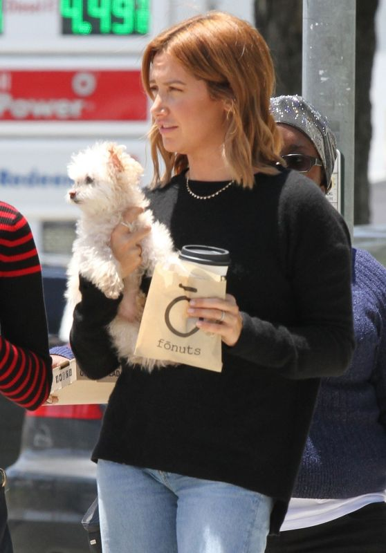 Ashley Tisdale at Fonuts in Studio City 06/07/2019