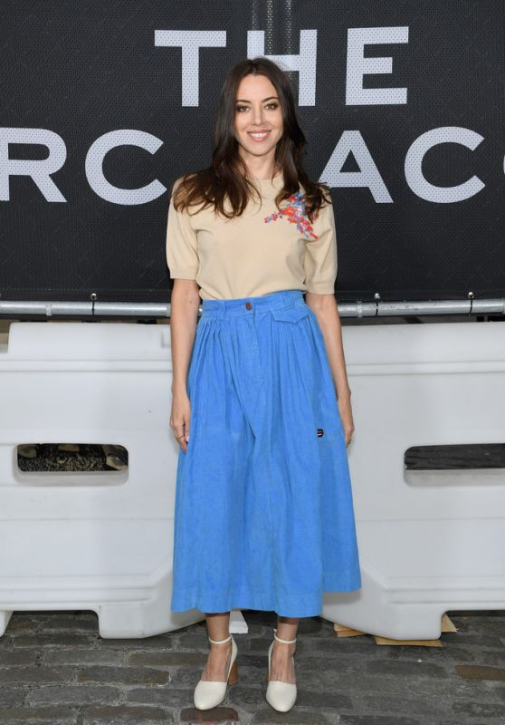 Aubrey Plaza - The Marc Jacobs SoHo Block Party in NYC 06/12/2019