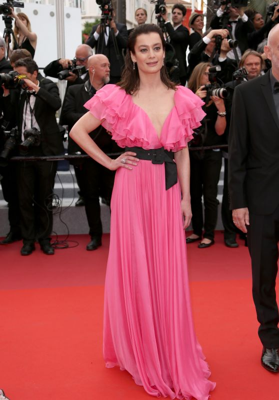 "Aurelie Dupont – ""Sibyl"" Red Carpet at Cannes Film Festival"