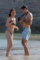 Aurora Ramazzotti in Bikini at Beach on Mykonos Island 06/09/2019