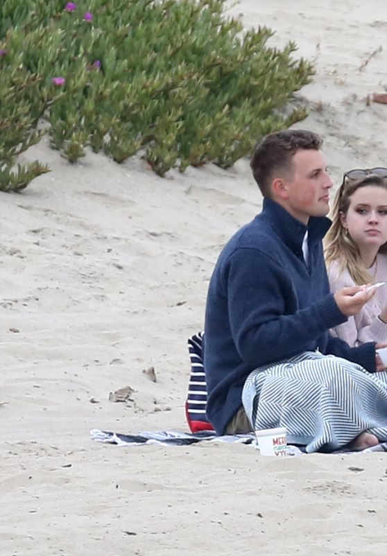 Ava Phillippe at the Beach in Los Angeles 06/03/2019