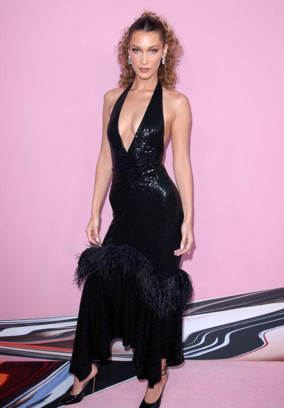 Bella Hadid – 2019 CFDA Fashion Awards in NYC