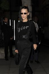 Bella Hadid - Outside a Christian Dior Party in London 05/29/2019