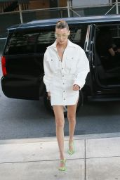 Bella Hadid Style and Fashion - Outside Her Apartment in NYC 06/03/2019