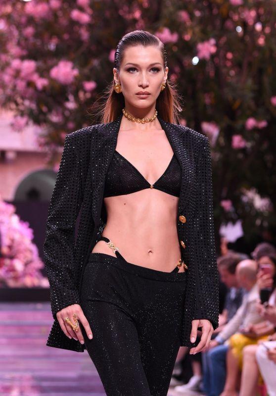 Bella Hadid – Versace Fashion Show S/S 2020 in Milan 06/15/2019