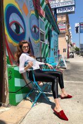 Blanca Blanco in Spandex - Hollywood 06/20/2019