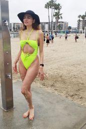Blanca Blanco in Swimsuit - Beach in Marina del Rey 06/16/2019