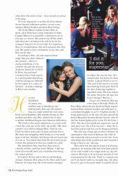 Brie Larson - Fairlady Magazine July 2019 Issue