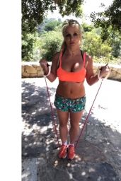 Britney Spears - Workout 06/17/2019