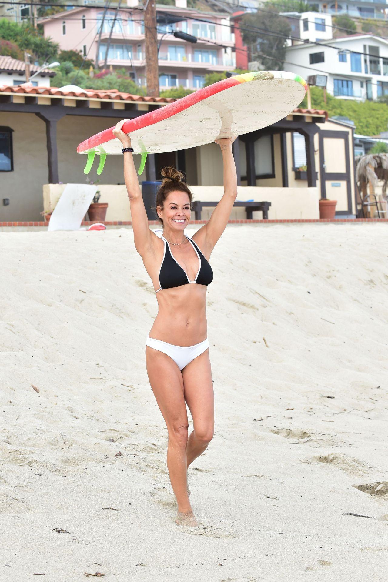 Brooke Burke In Bikini On The Beach In Malibu 06 09 2019
