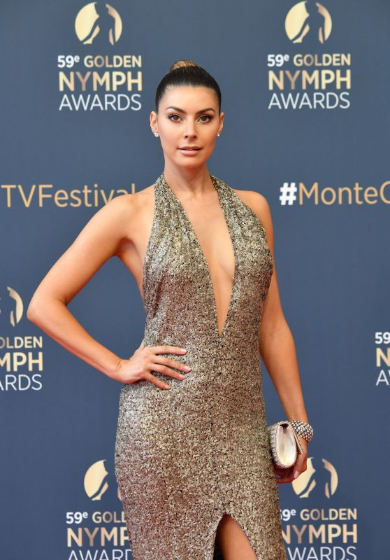 Candice Pascal - Golden Nymph Awards Ceremony at 2019 Monte Carlo TV Festival