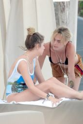Cara Delevingne and Ashley Benson - Vacationing in Tulum 06/02/2019