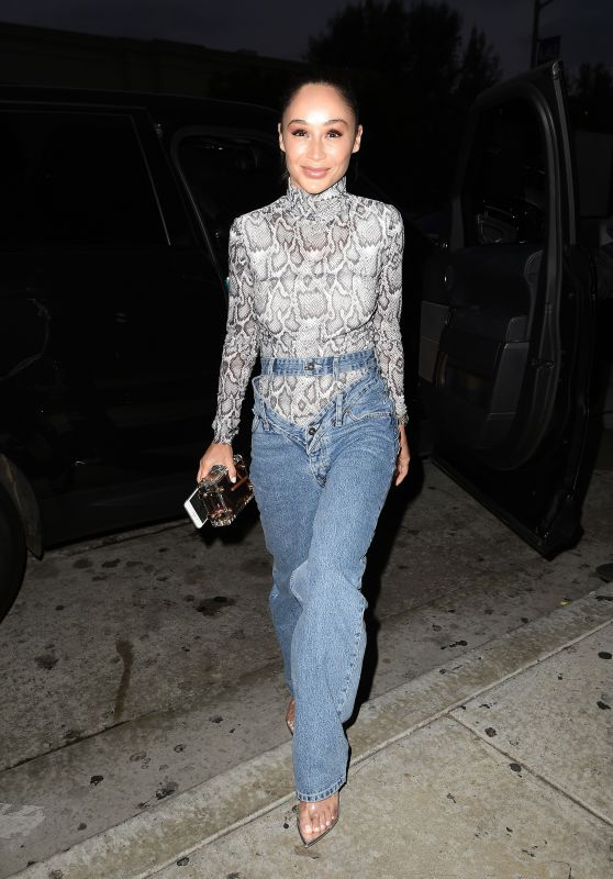 Cara Santana Night Out Style - Catch Restaurant in West Hollywood 06/07/2019
