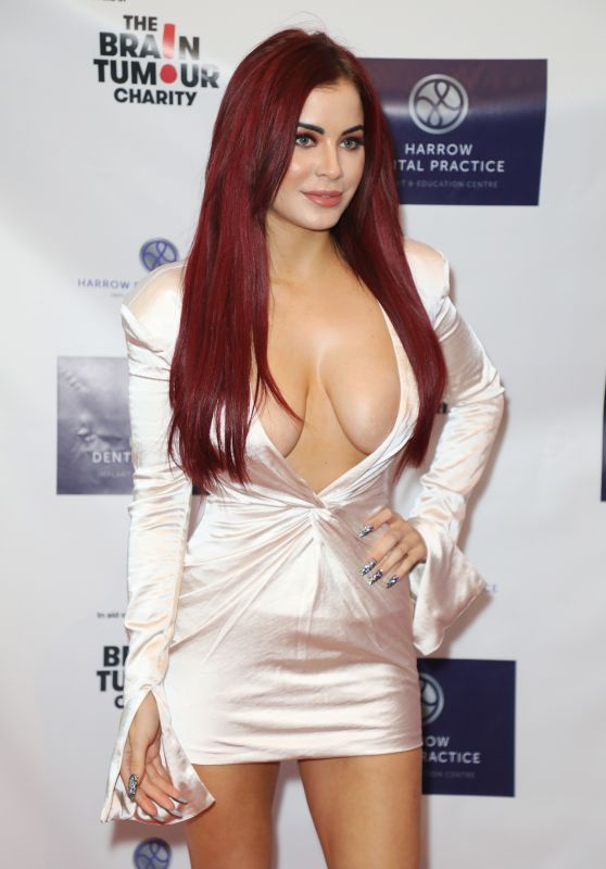 Carla Howe – Harrow Dental Practice x Brain Tumour Charity Gala Dinner in London 06/22/2019