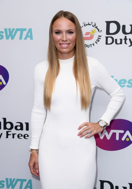 Carolina Wozniacki - Dubai Duty Free WTA Summer Party in London 06/28/2019