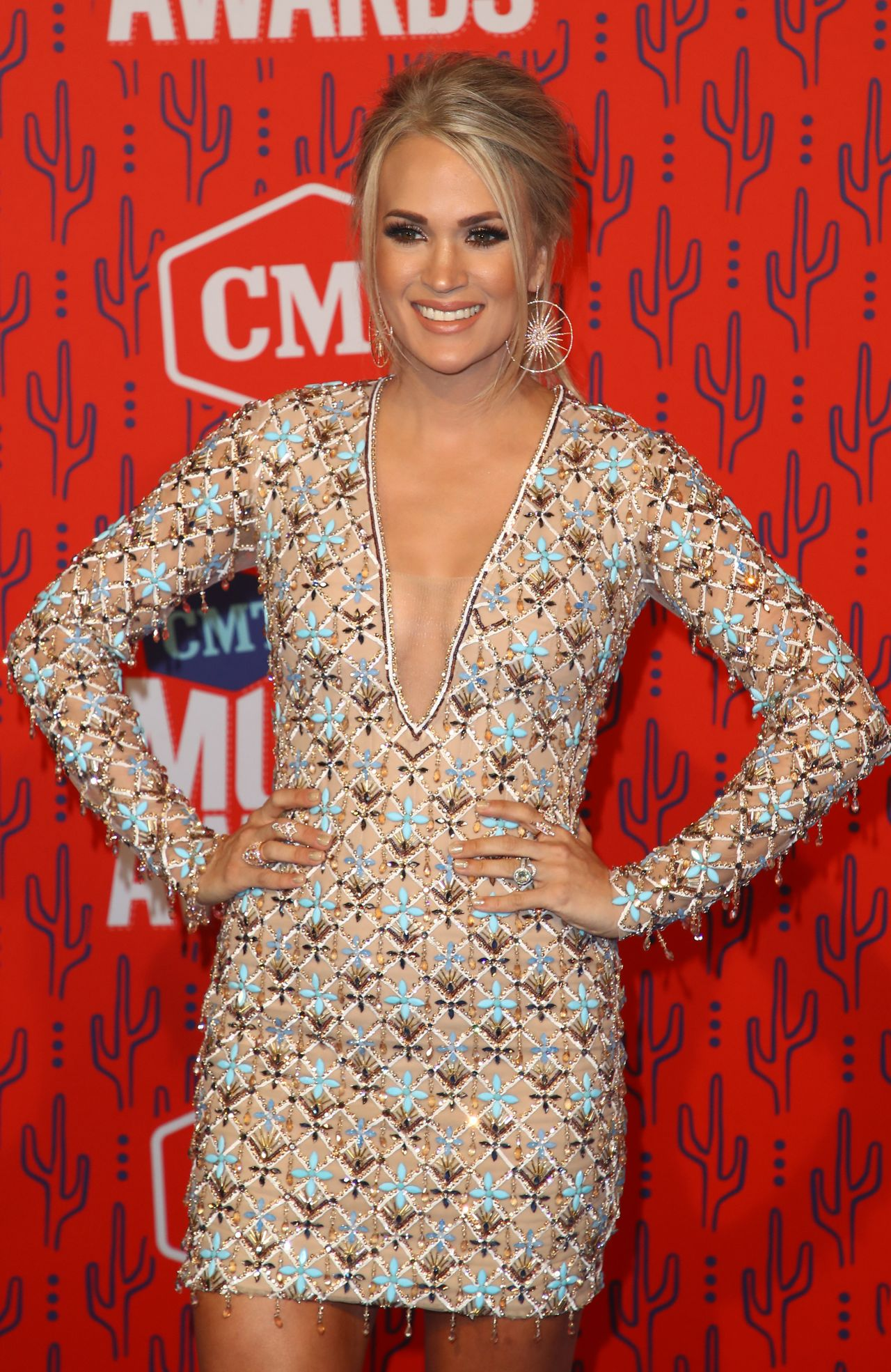 Carrie Underwood 2019 Cmt Music Awards In Nashville