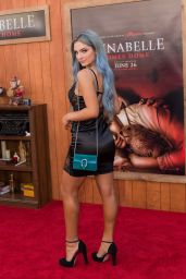 """Carrington Durham – """"Annabelle Comes Home"""" Premiere in Westwood"""