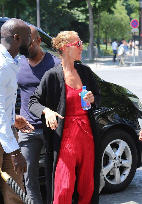 Celine Dion - Arrives in Paris 06/26/2019
