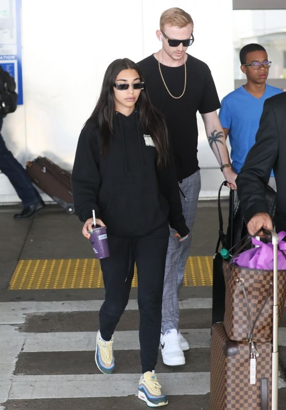 Chantel Jeffries in Comfy Travel Outfit - LAX in LA 06/23/2019
