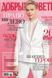 Charlize Theron - Good Advice Magazine Russia July 2019 Issue