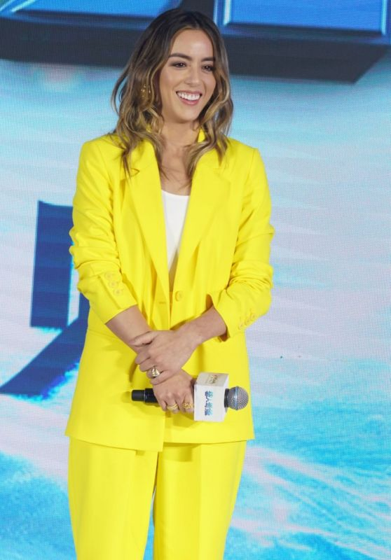"Chloe Bennet - ""Abominable"" Press Conference in Shanghai"