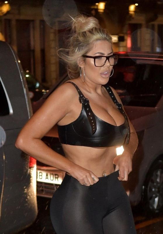 Chloe Ferry - Filming New Geordie Shore Series in Newcastle 06/12/2019