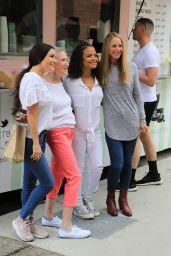 "Christina Milian at Her Food Truck ""Beignet Box"" in Studio City"" 06/14/2019"