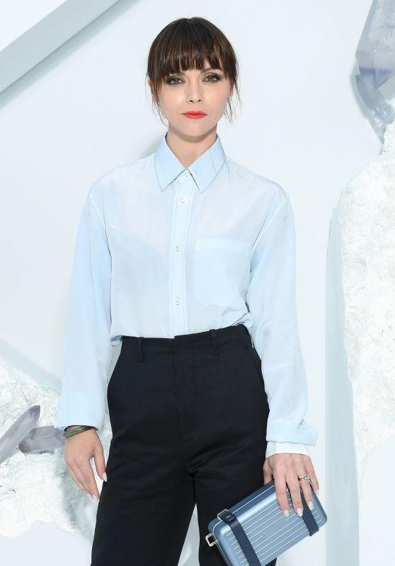 Christina Ricci - Dior Homme Menswear Spring Summer 2020 Show in Paris