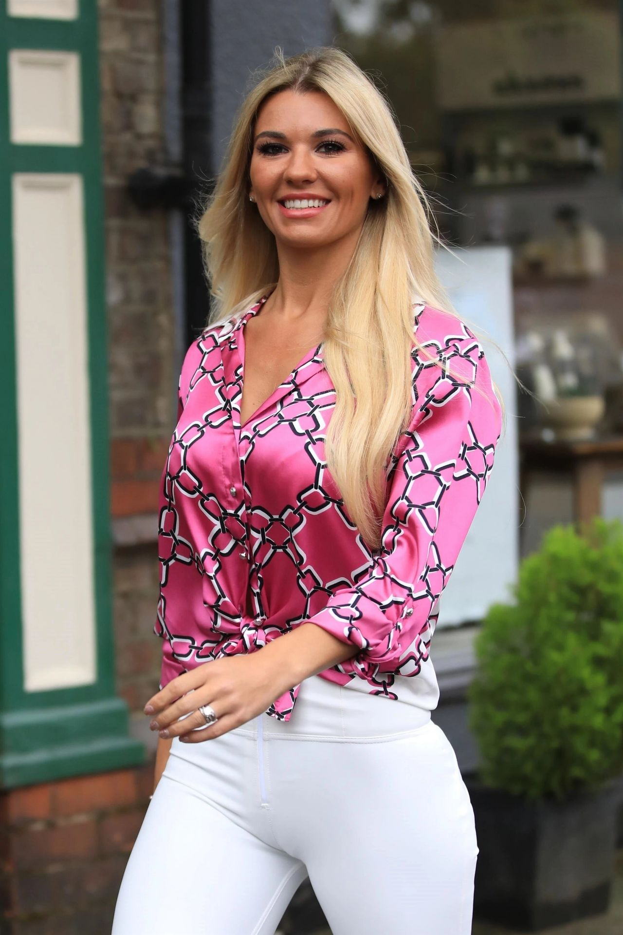 Christine Mcguinness In Tights Cheshire 06 12 2019