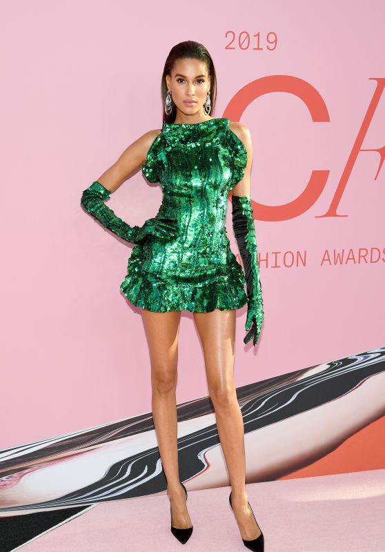 Cindy Bruna – 2019 CFDA Fashion Awards in NYC