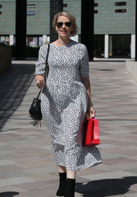 Claire Richards - ITV Studios in London 06/27/2019