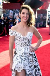 """Cobie Smulders – """"Spider-Man: Far From Home"""" Red Carpet in Hollywood"""