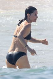 Courteney Cox on a Beach in Cabo 06/19/2019