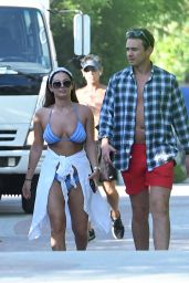 Courtney Green in Bikini - Miami Beach 06/06/2019