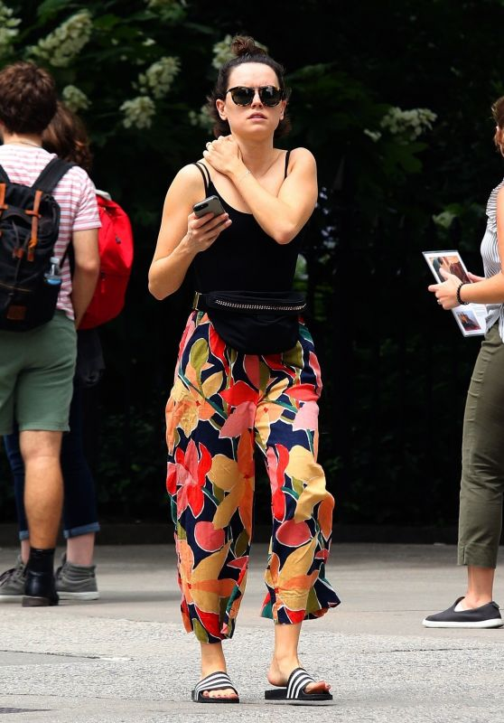 Daisy Ridley - Out in New York 06/25/2019