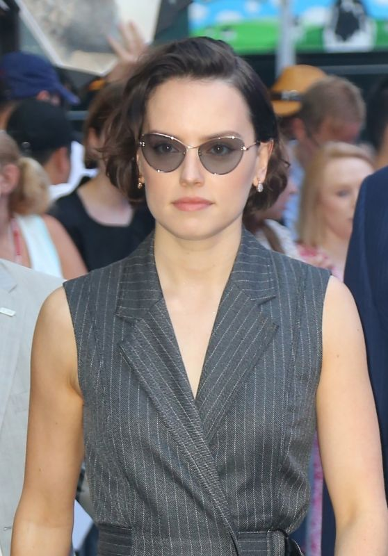 Daisy Ridley – Outside GMA in NYC 06/26/2019 (more photos)