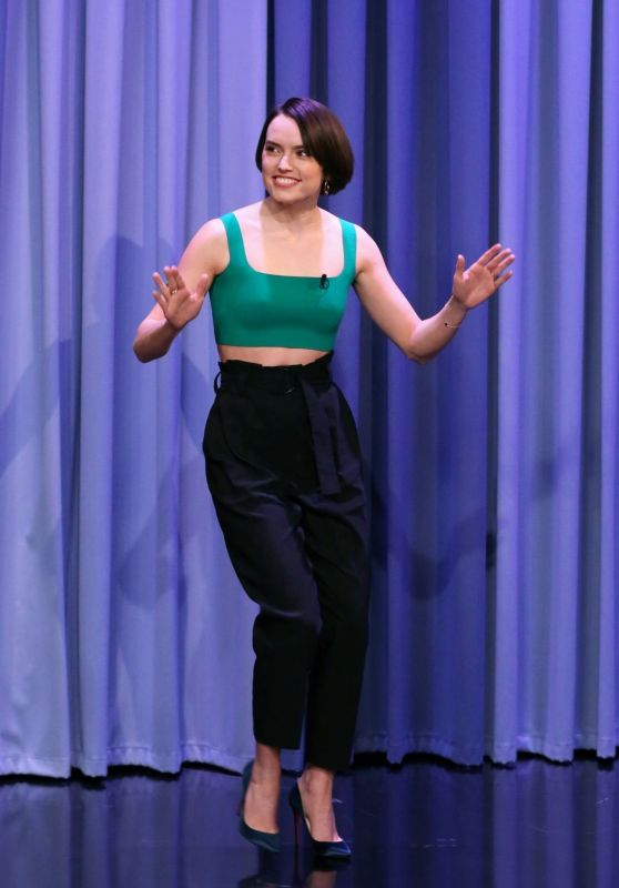 "Daisy Ridley - "" The Tonight Show Starring Jimmy Fallon"" in New York 6/26/2019"