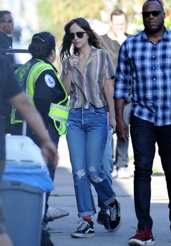 "Dakota Johnson - ""Covers"" Set in Los Angeles 06/12/2019"