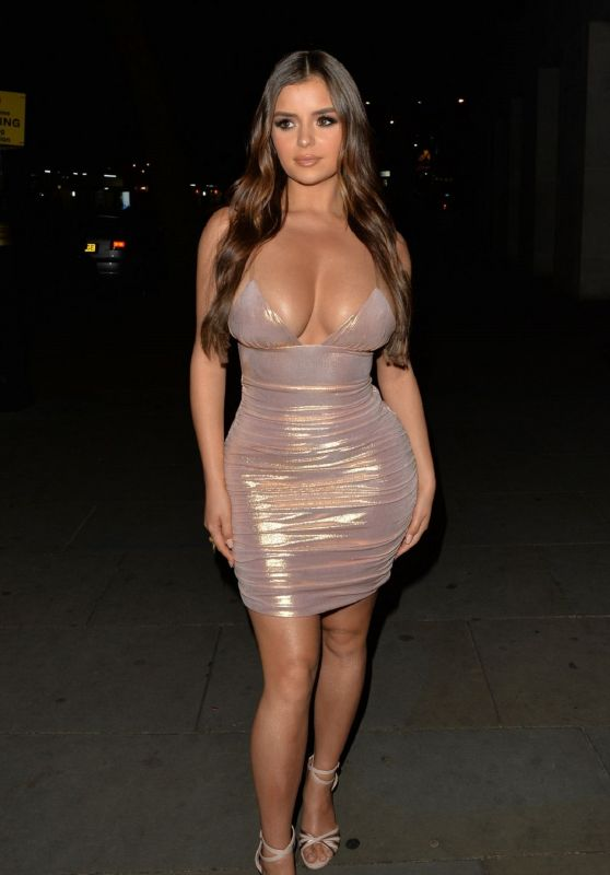 Demi Rose - Leaving STK London in London 06/16/2019