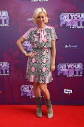 "Denise Van Outen – ""On Your Feet!"" Press Night in London"