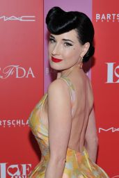 Dita Von Teese - Love Ball III in NY 06/25/2019