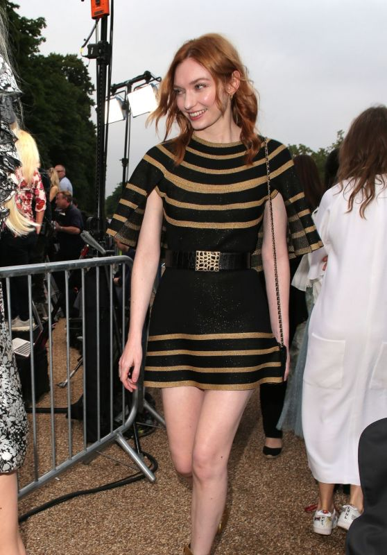 Eleanor Tomlinson – Outside The Serpentine Gallery Summer Party in London 06/25/2019