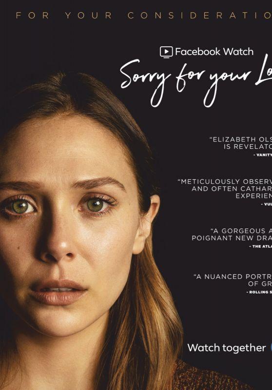 Elizabeth Olsen - Emmy Magazine July 2019