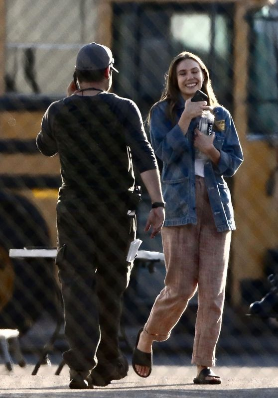 "Elizabeth Olsen - ""Sorry For Your Loss"" TV Series Set in Los Angeles 06/26/2019"