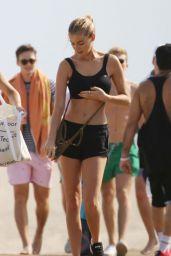 Elizabeth Turner in Bikini - Beach in LA 6/11/2019