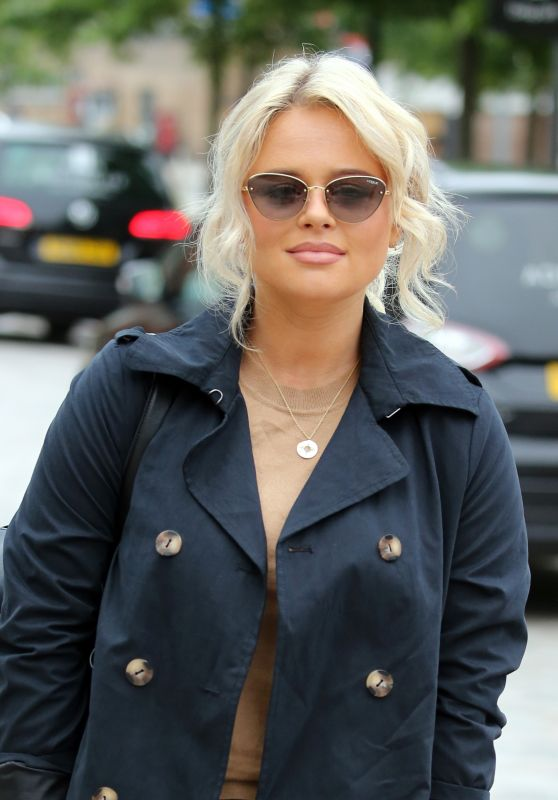Emily Atack - Outside ITV Studios in London 06/26/2019