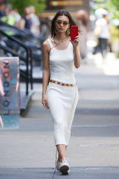 Emily Ratajkowski on Her Phone - NYC 06/06/2019