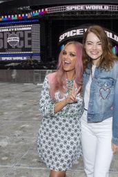 "Emma Stone - ""Spice Girls"" Concert in London 06/13/2019"