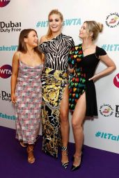 Eugenie Bouchard – Dubai Duty Free WTA Summer Party in London 06/28/2019